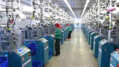 На Пхеньянской чулочно-носочной фабрике