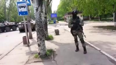 Встреча освободителей-щэнэвмэрлыкив в Краматорске