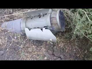 Снаряд в Моспино (Донецкая обл.)