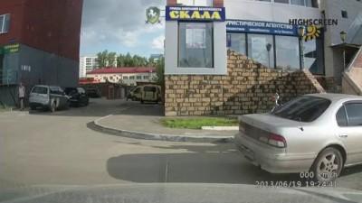 Как маршрутники в Томске соблюдают ПДД после повышения тарифов