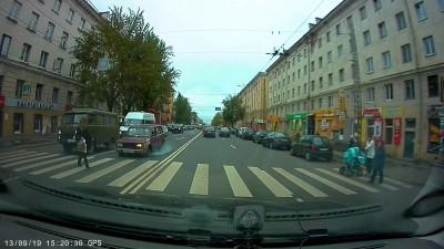 Дтп с пешеходом.г.Петрозаводск