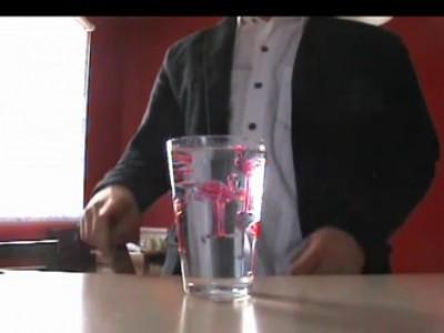 Фокус со стаканом