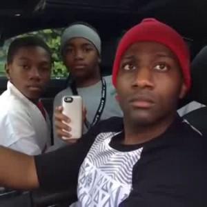 Неожиданная ситуация во время угона машины
