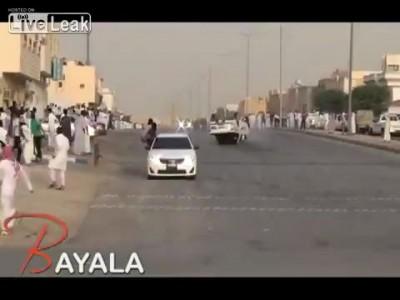 Эффектный саудовский дрифт