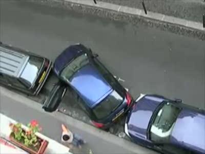 Растолкал и припарковался