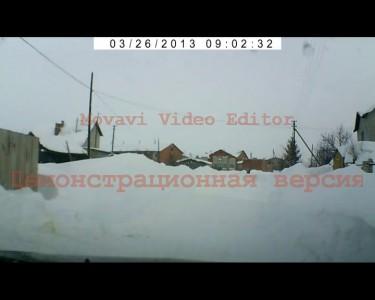 снег,дорога,деревня