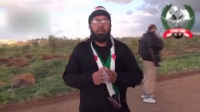 Гибель джихад мобиля и его экипажа. Сирия.