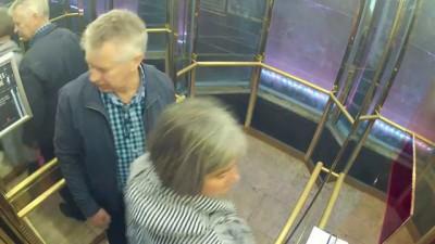 Прикол в лифте (3 часть)