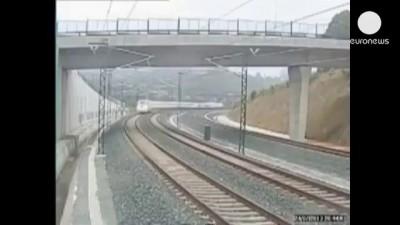 крушения поезда в Испании