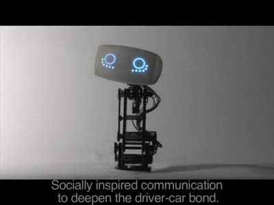AIDA - Affective Intelligent Driving Agent (Robot Only)