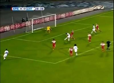 Кривбасс - Шахтер 0 - 2 Обзор матча 18-Й ТУР 30.11.2012