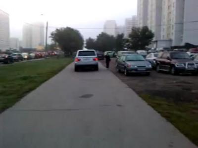 Нарушение ПДД автомобилем с гос. номером Т199НН197