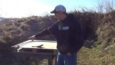 22plinkster показывает, как можно стрелять из пистолета .22lr