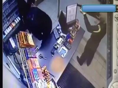 Ограбление АЗС.