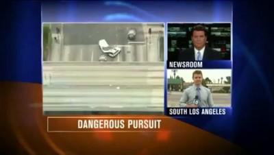Погоня в Лос-Анжелесе