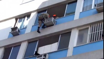 Saving a Cat from Falling
