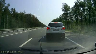 Летающее железо на Горьковском шоссе