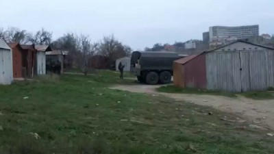 Севастополь, рядом с украинсой воинской частью, 01 марта 2014