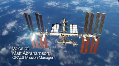 NASA's OPALS Beams Video from Space