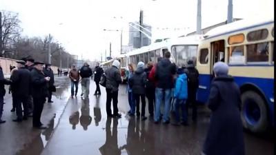 Парад пассажирской техники СССР
