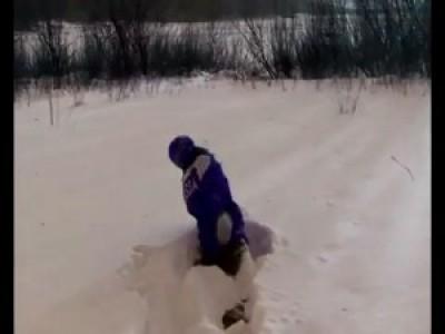 Прогулка по озеру и снежный ipad :D