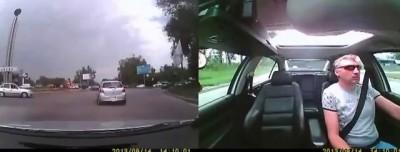 Водитель въехал в камаз на большой скорости.