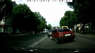 Быдло на дороге