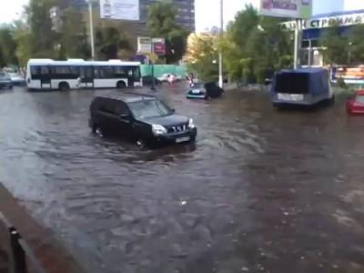 Потоп на Семеновской 20.07.2010