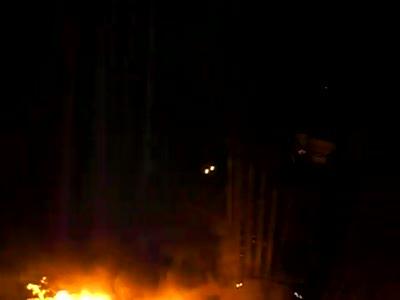 Пожар в Очаково
