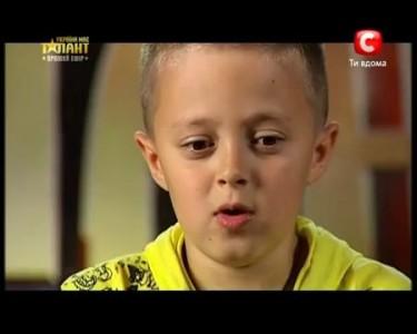 Украина мае талант 4! - Виталий ТИЩЕНКО [19.05.12]