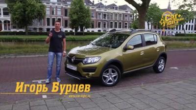 Renault Logan/Sandero с роботом Тест-Драйв. Игорь Бурцев.