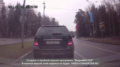 Авария 27.04.2015 Зеленоград