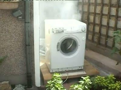 """""""Убийство"""" стиральной машинки"""