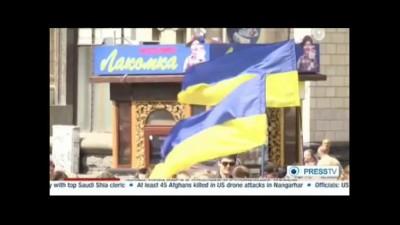 Митинг в Киеве против повышения цен на ЖКХ