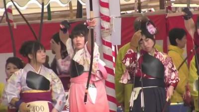 Случай на Японском турнире лучников