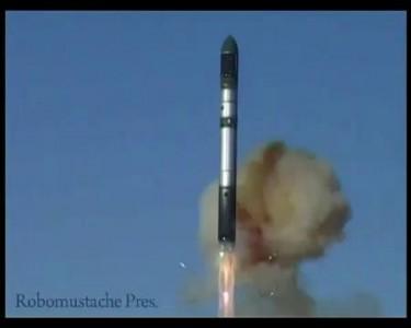 Пуск ракеты САТАНА