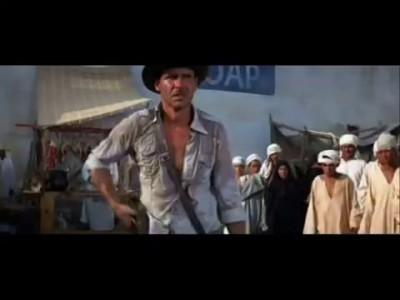 Indiana Jones : Sword vs. Gun