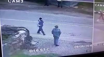 Взрыв смертника на автодороге Грозный – Алхан – Кала. попал на видео 09/05/2016