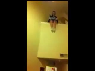 How NOT To Catch A Falling Cheerleader