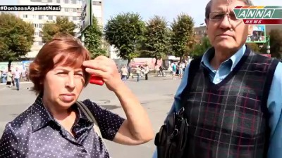 ЛНР. Луганск. Мнение людей о войне. 10.09.2014