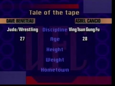 UFC - Jiu Jitsu Grappler Vs Wing Chun fighter