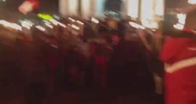 Факельное шествие в честь дня рождения Бандеры. 2015