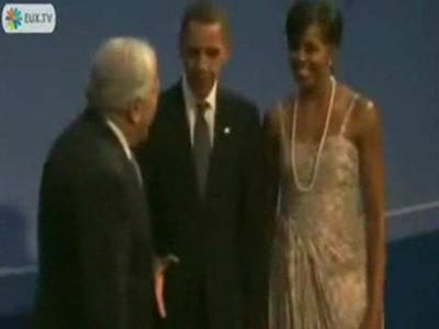 Не пожал руку Обаме