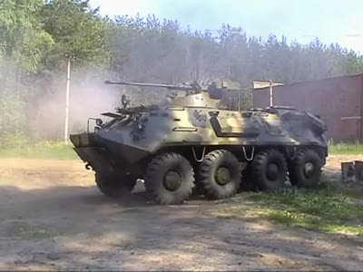 Modernised BTR-60 & BRDM-2 shooting