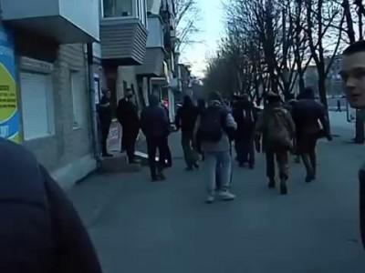 Днепропетровск - арест за гвардейскую ленточку