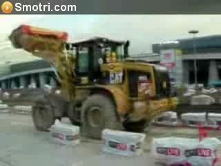 трактор акробат