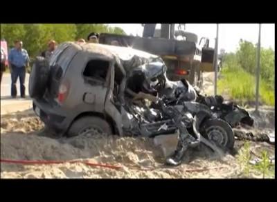 ДТП на Самотлорском месторождении 6 июля. Два человека погибли