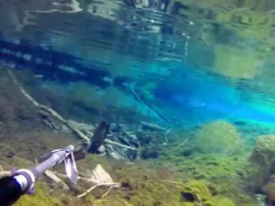 Открытие подводного сезона 2016. Нереальный прозрак.