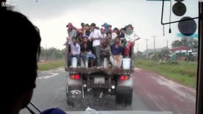 Камбоджийская маршрутка