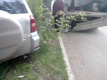Пьяный водитель совершил наезд на молодого человека (Новокузнецк)